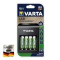 Ново поколение зарядно VARTA LCD Plug Charger Plus може да зареж