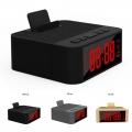 Bluetooth Безжична колонка с часовник, аларма, Bluetooth, FM рад