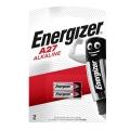 ENERGIZER Батерии 27А, A27, MN27 22mAh 12V 2 броя