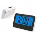 LCD часовник-будилник с гласов контрол 3618