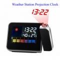 LCD часовник с проектор, метеорологична станция 8190