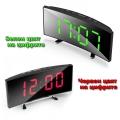 LED часовник с огледален дисплей час, дата, температура и аларма