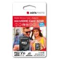 MicroSD карта AGFA PHOTO 32GB HIGH SPEED с адаптор за SD слот Mo