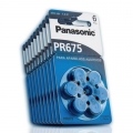 PANASONIC Батерия за слухов апарат PR675, 675, DA675, PR44 1.4V