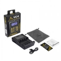 XTAR VC4 Универсално зарядно устройство, тестер с LCD за 3.6V и