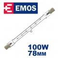 Крушка EMOS 100W L-78mm