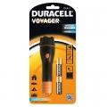 Фенер компактен гумиран Duracell VOYAGER™ CLX-1 2AA 3 LED