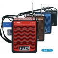 Радио WAXIBA XB-917U с MP3, USB, FM Радио, SD card