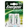 ENERGIZER Акумулаторна батерия C, R14, 2500mAh 1.2V NiMH ENERGIZ