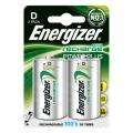 ENERGIZER Акумулаторна батерия D, R20, 2500mAh 1.2V NiMH ENERGIZ