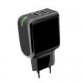 Универсално зарядно устройство Meliconi 2.4A с 2 USB из
