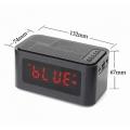 Настолен Часовник с аларма, FM радио, Bluetooth колана USB MP3 A