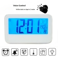 Дигитален часовник 2618 с гласов контрол или докосване за вклюва
